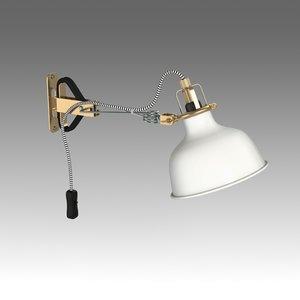 3d lamp ikea model