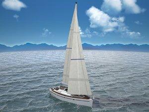 sunbeam yacht 34 c4d