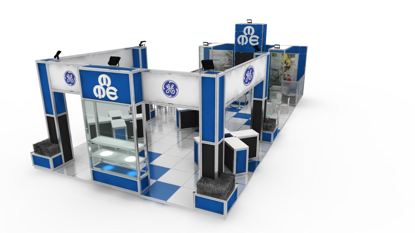 exhibition 56 3d model