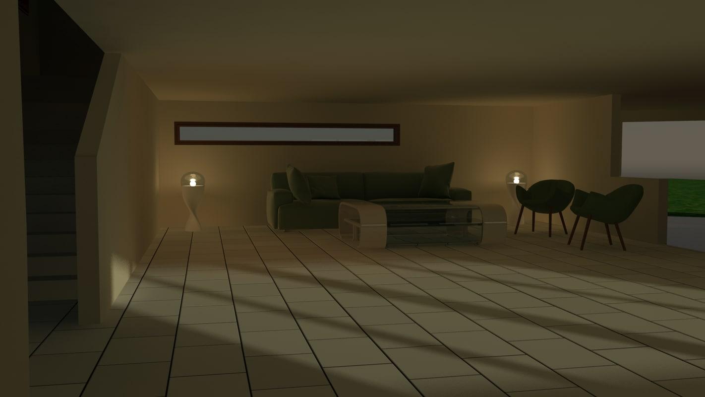 house garage 3d model