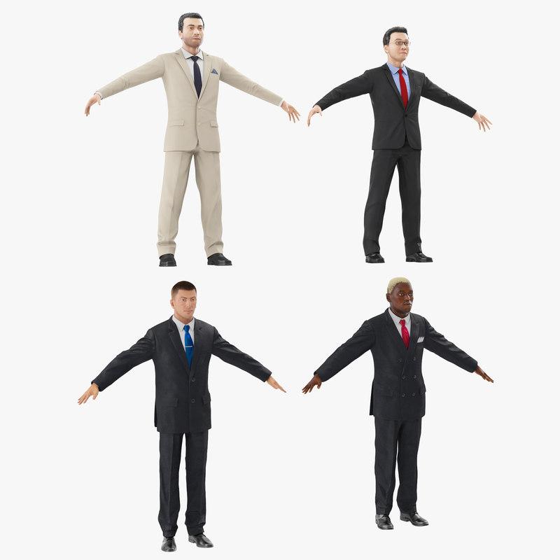 max businessmans modeled