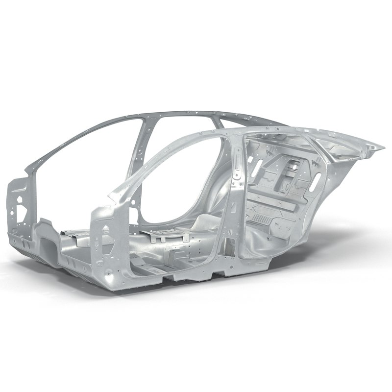 car frame 3 3d 3ds