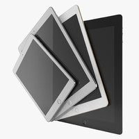 iPads 3D Models Collection 2