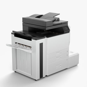 3d model printer office
