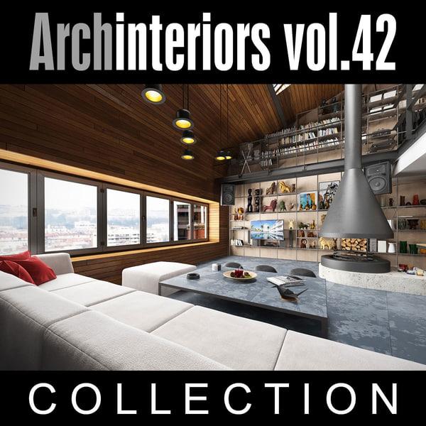 3ds max archinteriors vol 42 interior scenes