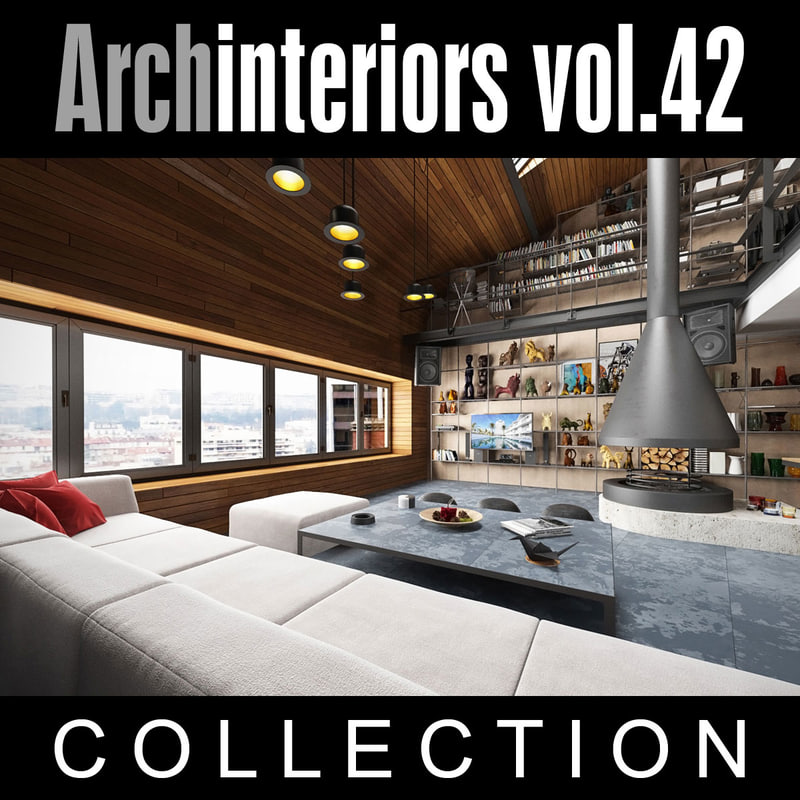 3ds max archinteriors vol 42 interior scenes