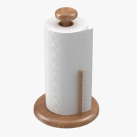 Paper Towel Roll on Holder