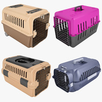 3d mobile pet carrier