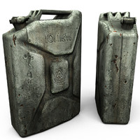 LowPoly Jerry can old