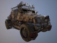 zombie killer jeep 3d ma