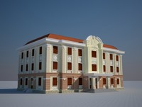 office house 3d max