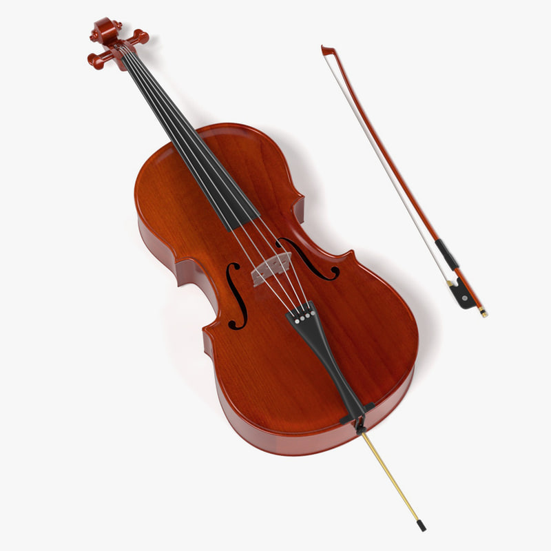 3ds max cello bow