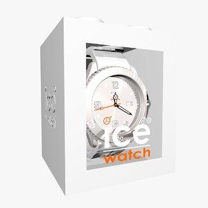 white ice watch 3ds