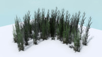 pack tall grass 3d 3ds