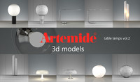 artemide table lamps volume 2 max