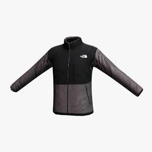 3dsmax north face denali jacket