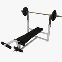 3ds weight lifting bench