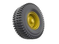 truck tire 3d model