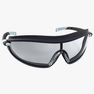 3d model safety glasses 2 pyramex