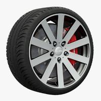 3d nitro daytona wheel model