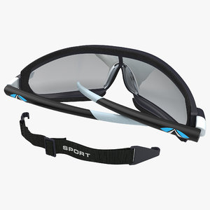3d safety glasses folded pyramex