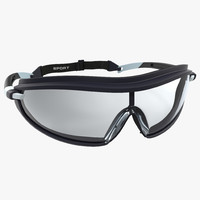safety sport glasses generic 3d model