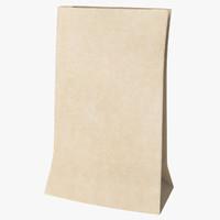 3ds max paper bag