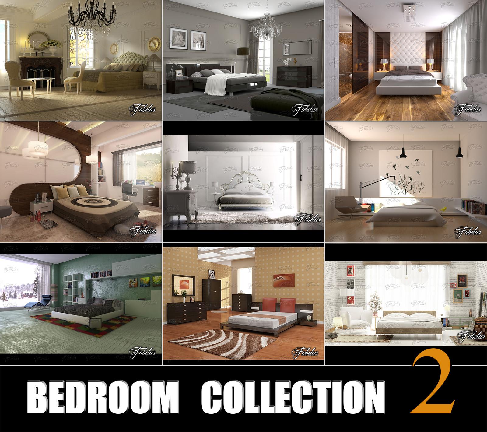 3d bedrooms 2 model