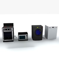 kitchen appliances coll-i obj