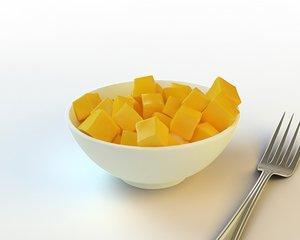 3ds max 38 sliced mango