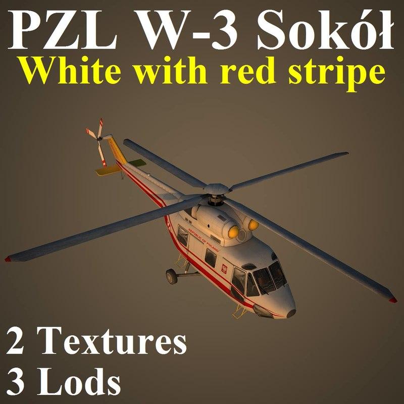 pzl red 3 3d max