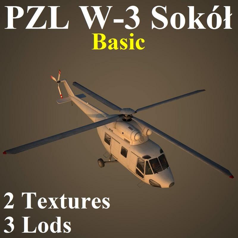 3d model pzl basic 3