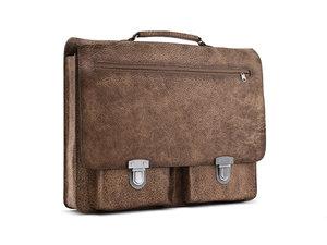 max school bag leather