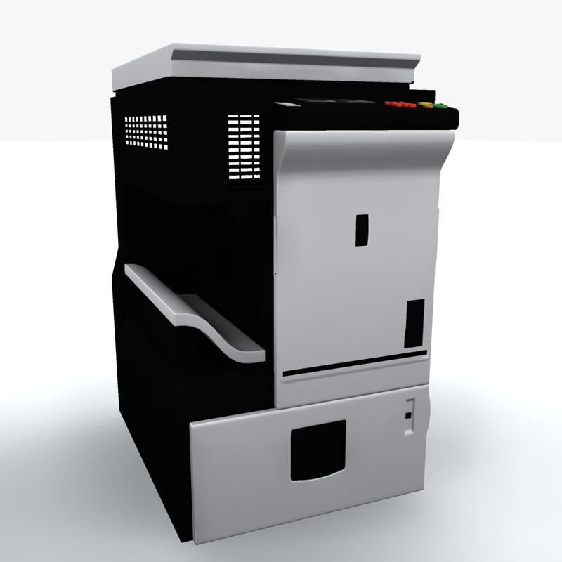 3d photocopier machine iv