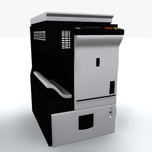 3d photocopier machine iv