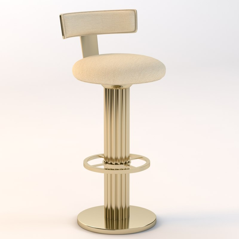 3d barstool design leisure