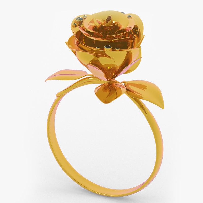 golden ring rose 3ds