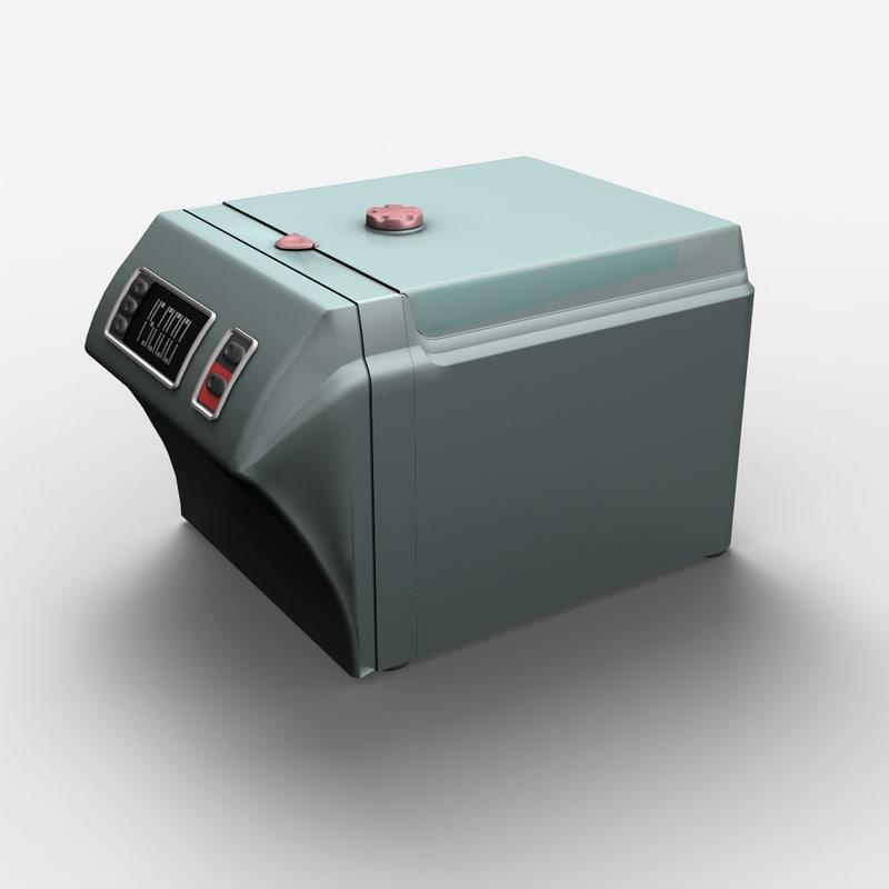 laboratory centrifuge 3d model