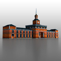 3d railway station