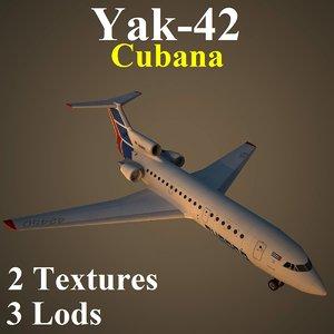 3d yakovlev cub model