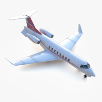 3d private jet