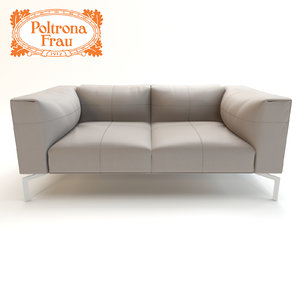 max leather sofa poltrona