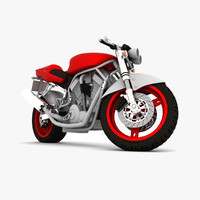 motorcycle vehicle sports 3d max