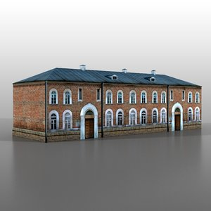 3ds max brest fortress