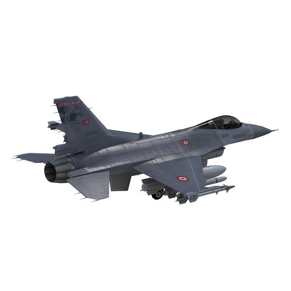 f16 falcon fighter obj