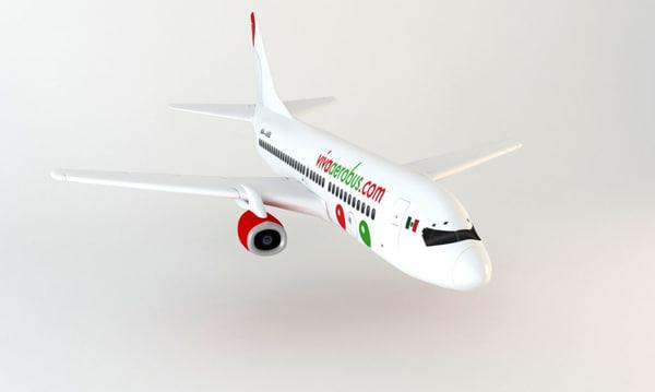 airplane 3d max