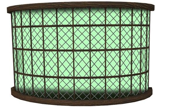 tudor large shop window 3d 3ds