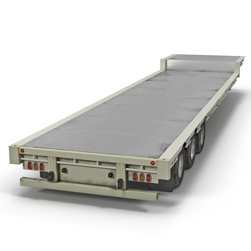 3d 3ds single drop tri axle