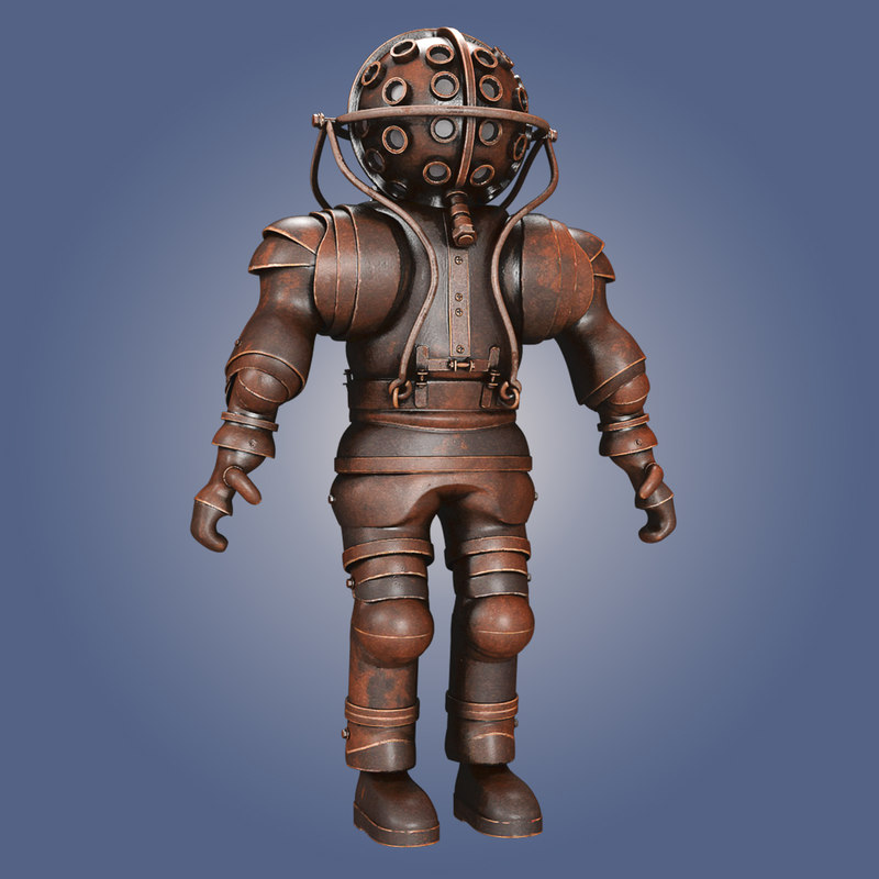 old diving suit max
