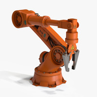 3d model robotic arm 1